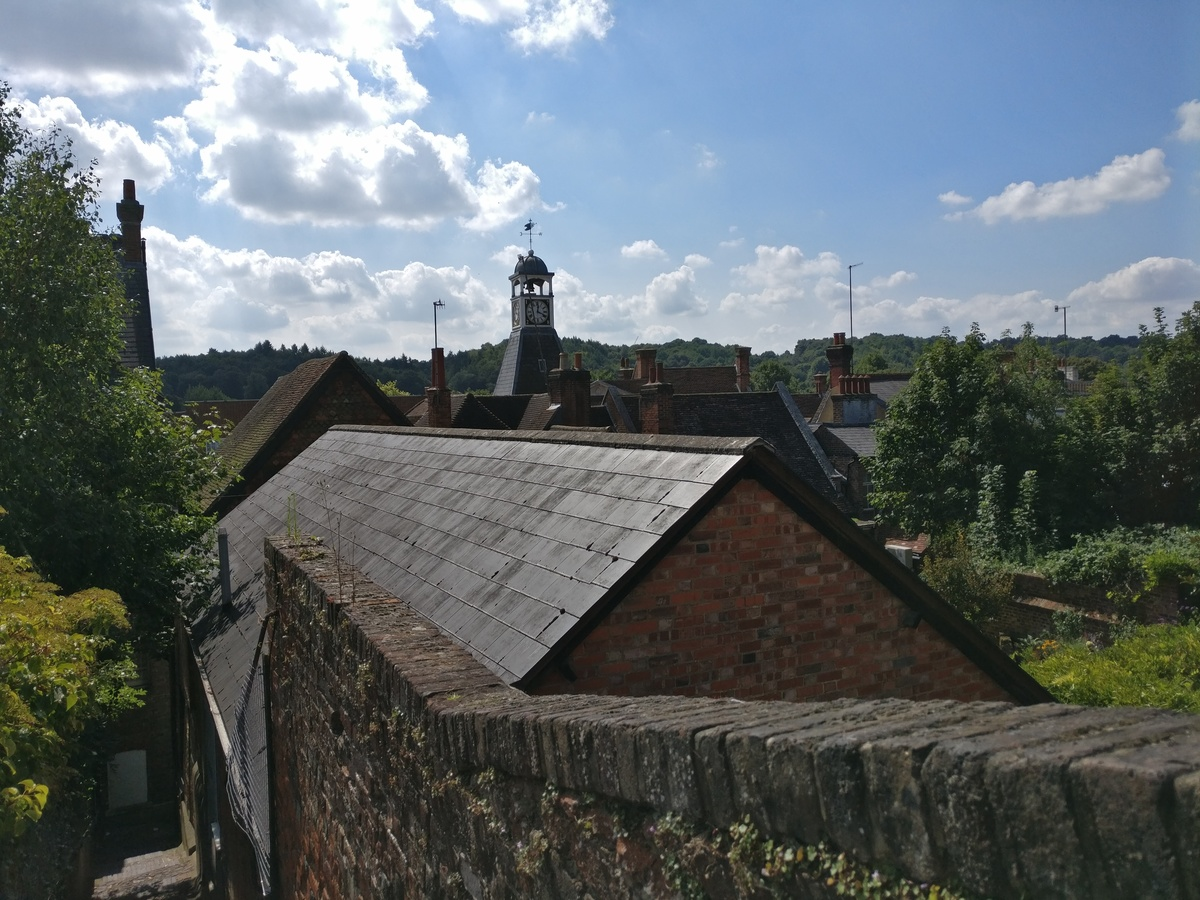 Reigate rooftops