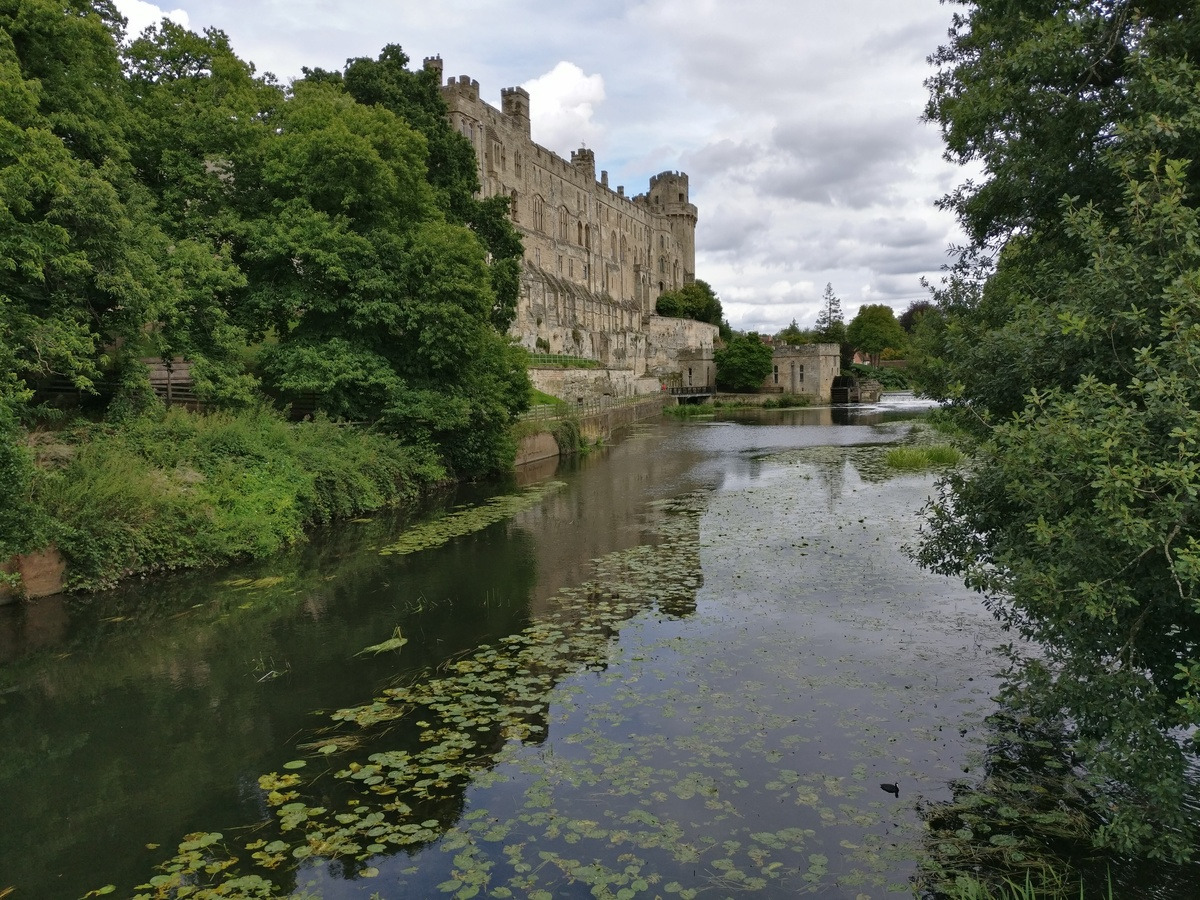 Warwick Castle river